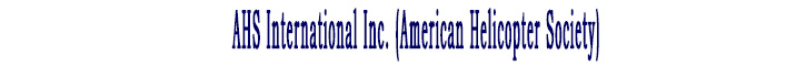 AHS International Inc. (American Helicopter Society)