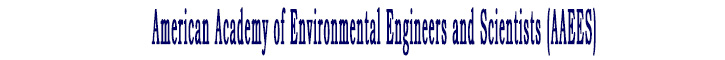 American Academy of Environmental Engineers and Scientists (AAEES)