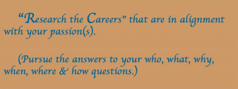 "Think Outside the Box - Part 2 - ""Research the Careers"" that are in ..."